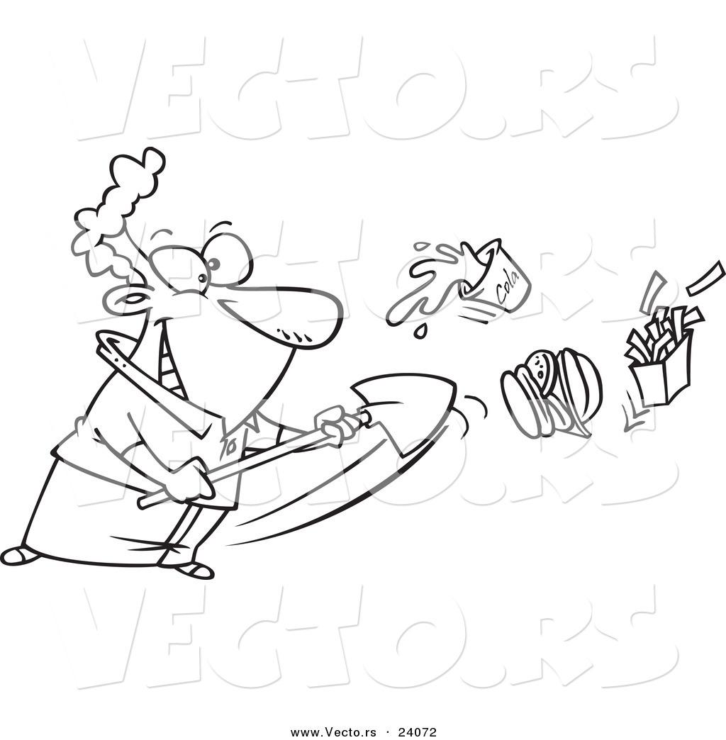 Royalty Free Shovel Stock Designs