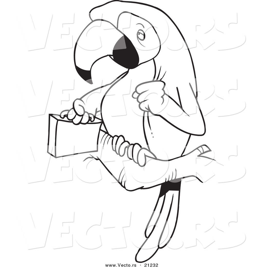 Briefcase Coloring Page Coloring Pages