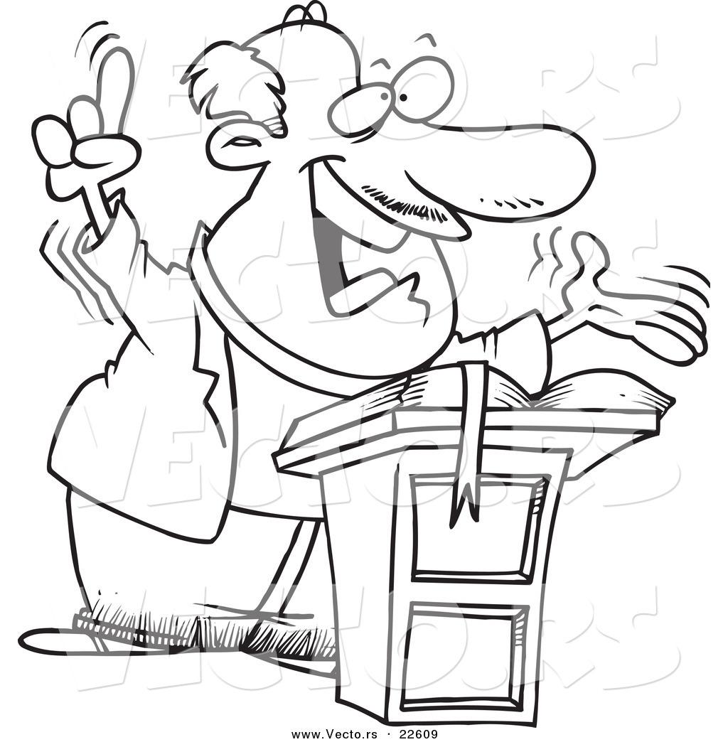hight resolution of free download best pastor clipart black preacher clip art vector of a cartoon preaching pastor