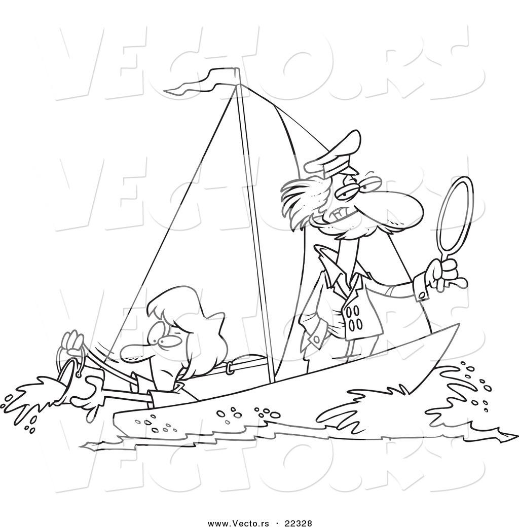 Wrong Sailing Cartoons