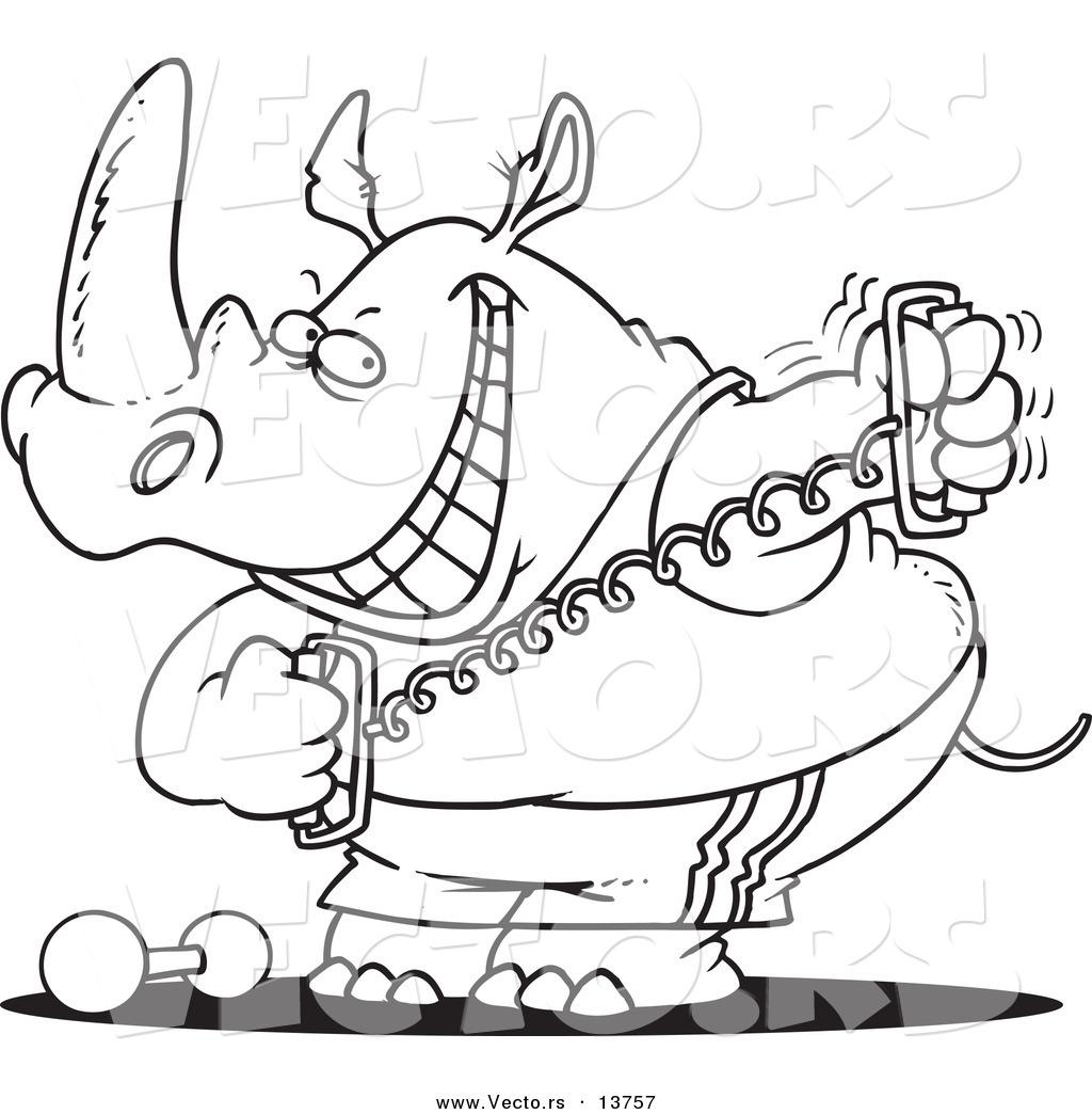 Cartoon Workout Images