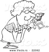 Royalty Free Old Woman Stock Vector Designs