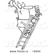 Royalty Free Stock Vector Designs of Ladders