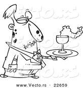 Royalty Free Waiter Stock Vector Designs