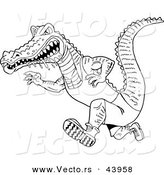 Royalty Free Stock Vector Designs of Alligators