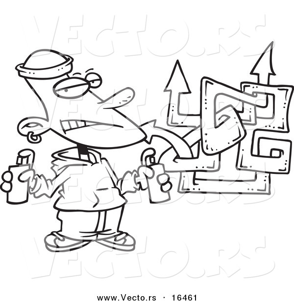Free spray can coloring pages