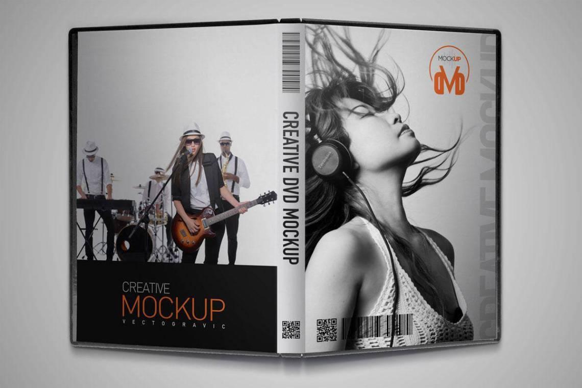 Download DVD Mockup Premium Mockup Template Vectogravic Design ...
