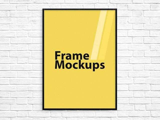 Frame Mockup for ANY SIZE Poster