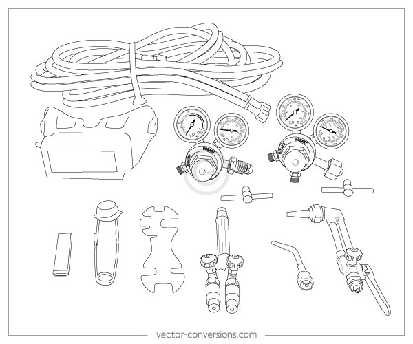 Vector Line Drawings for Manuals
