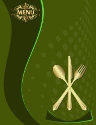 menu restaurant template vector vectors templates cards cool
