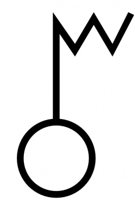 Free download of Japanese Map Symbol Electric Wave Tower