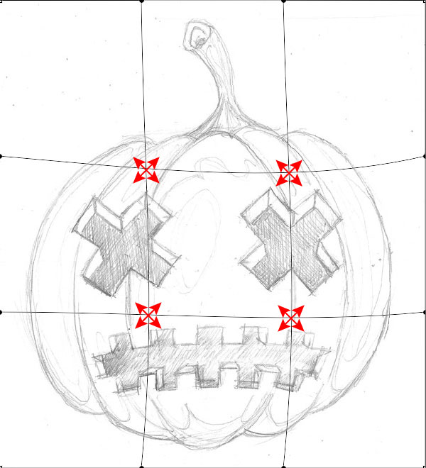 How to create Halloween T-shirt design in Adobe