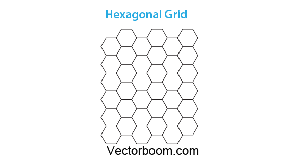 How to create hexagonal grids for making patterns in