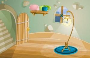 background interior dorm living fuzz academy illustrations