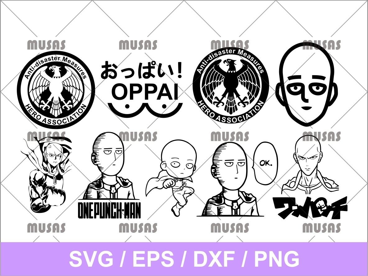 anime marvin the martian i chews you svg, zombies svg $ 4.55 $ 2.99. One Punch Man Anime Manga Svg Vectorency