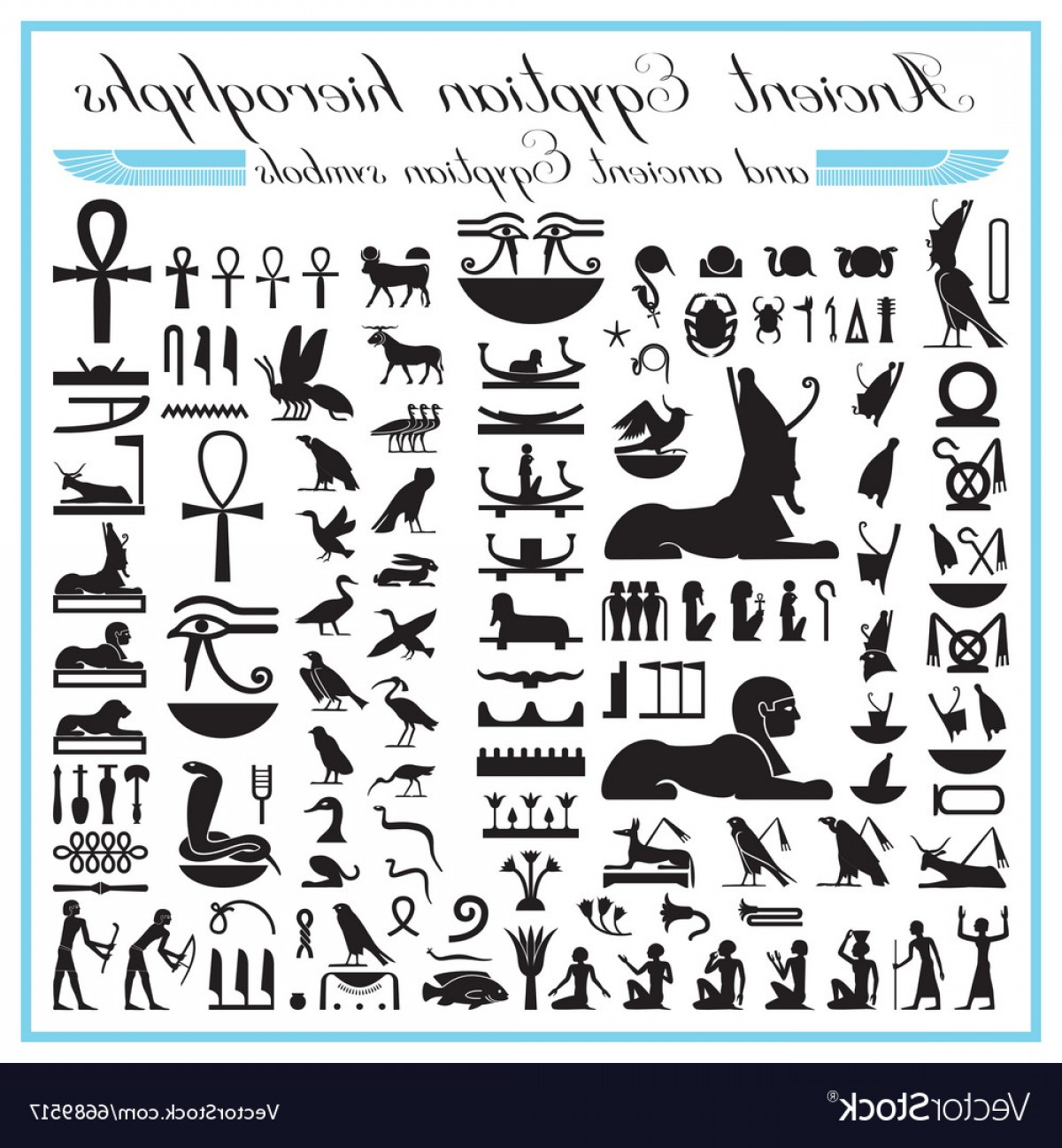 Egyptian Letters And Symbols