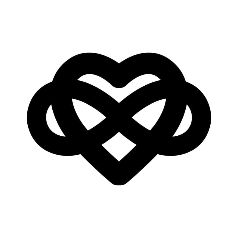 Download Infinity Heart Vector at Vectorified.com | Collection of ...