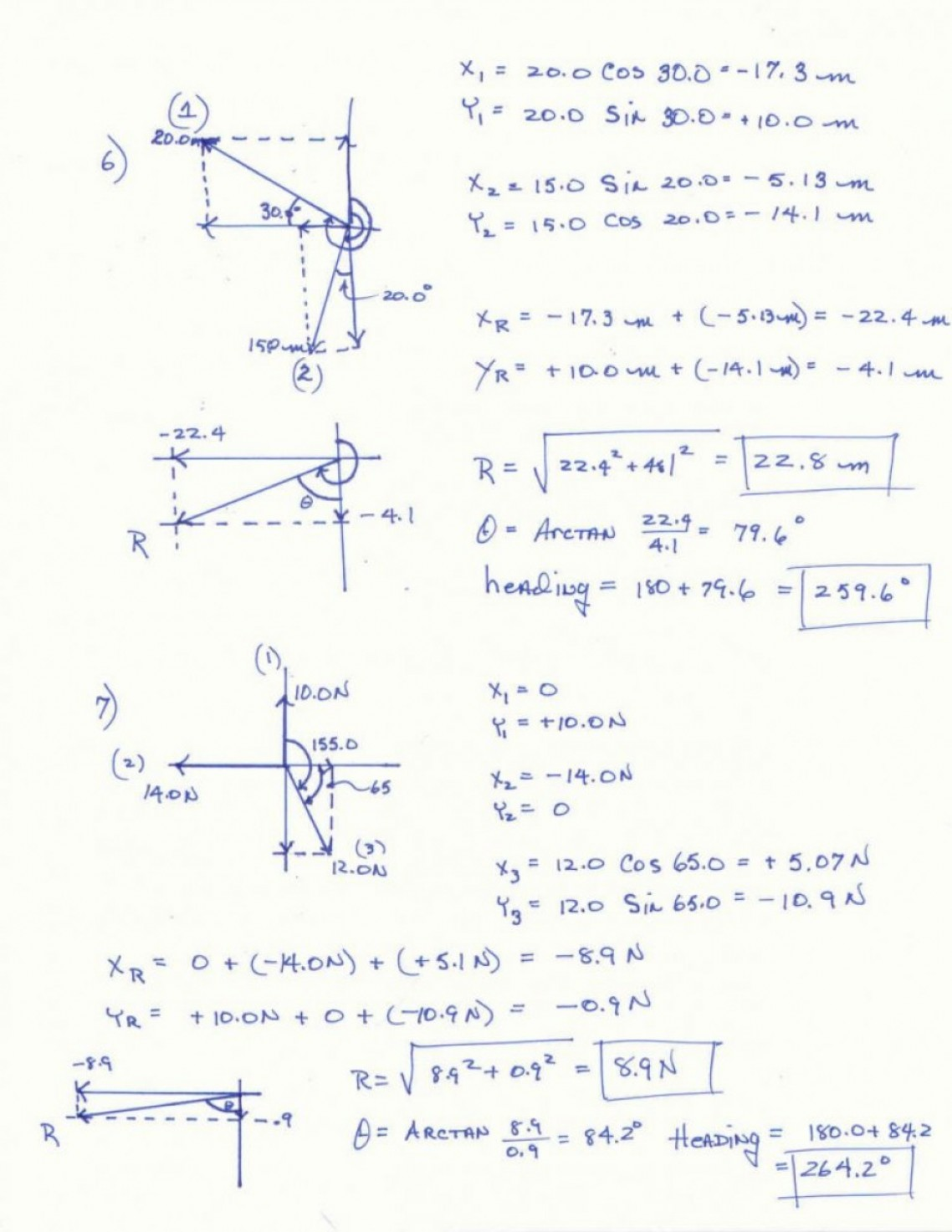 Vector Worksheet Physics Answers