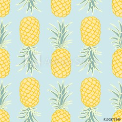 pineapple vector pattern silhouette vectorified