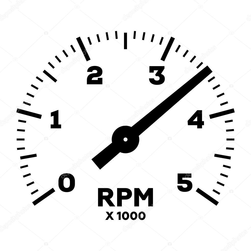 Rpm Gauge Vector At Vectorified