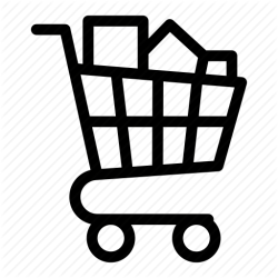 icon cart wholesale shopping grocery commerce transparent icons vectorified clip personal