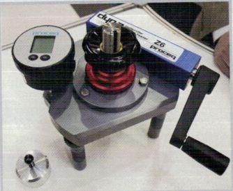 Прибор для метода отрыва с диском для приклеивания к бетону