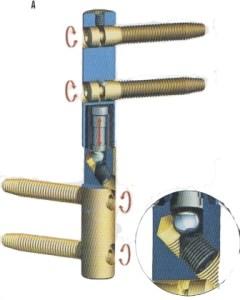Регулируемые петли с защитным колпачком для наиболее тяжелых дверей из массива дерева.