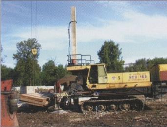 Установка УСВ-160М (статическое вдавливание свай)