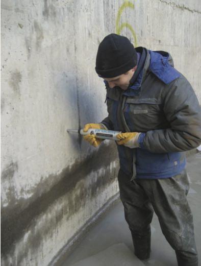 Промасливание бетона растворы и бетонные смеси
