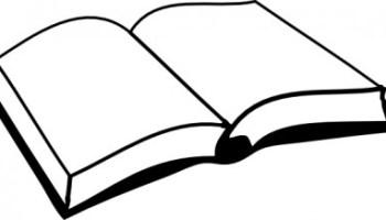 6098278cc059 Vector Open Book Vector Clip Art