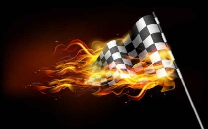 Car Wallpaper Bussines Card Vector Burning Flame Banner Background Vector Art Ai