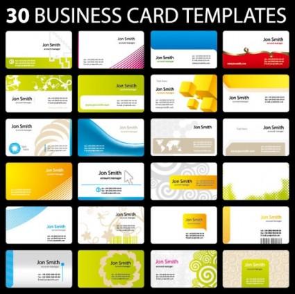 30 Practical Card Template Vector  Ai Svg Eps Vector