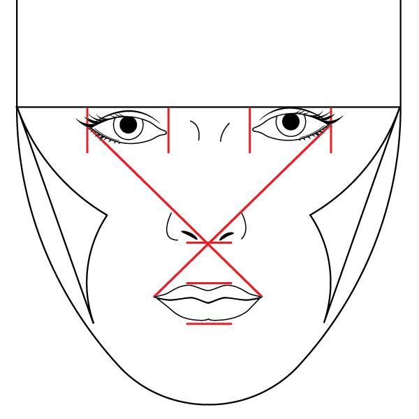 Illustrator School: Modeling the Human Face in Illustrator