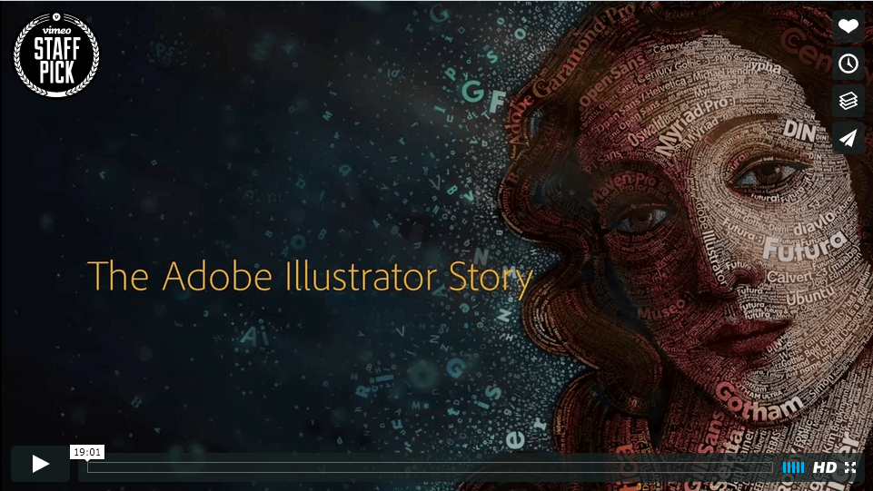 The Adobe Illustrator Story - Then and Now