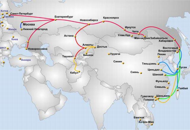Доставка грузов из Китая по суше и морю