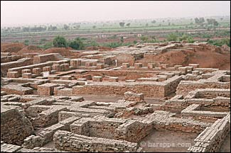 Sarasvathi Civilization Building in ruins.jpg