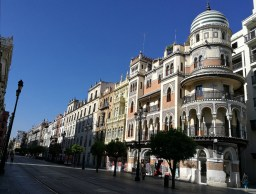 Street in Seville.