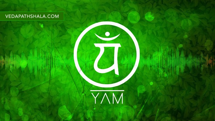 The beej Mantra Sound of Heart Chakra is YAM