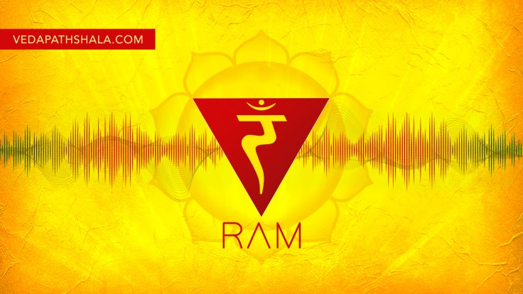 Beej Mantra for Solar Chakra is RAM