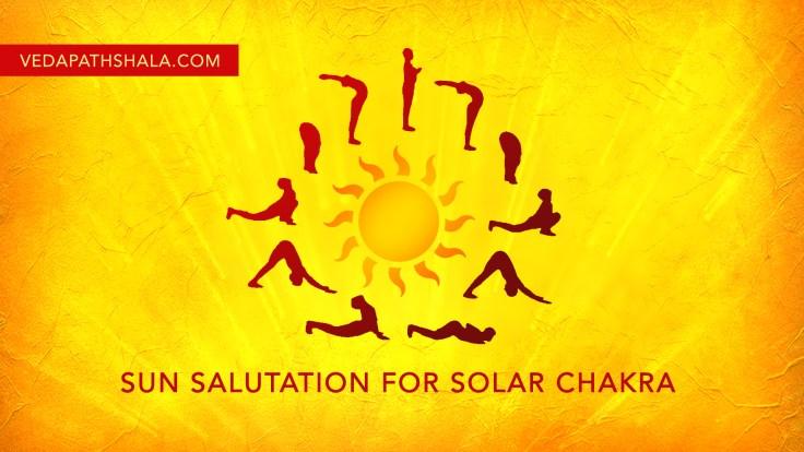 Sun Salutation Yoga For Balancing Solar Plexus Chakra