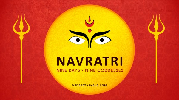 navratri celebration - Worshipping Goddess Durga