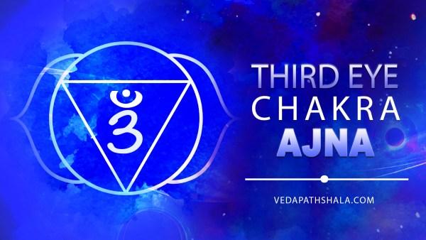 Ajna chakra- the third eye chakra