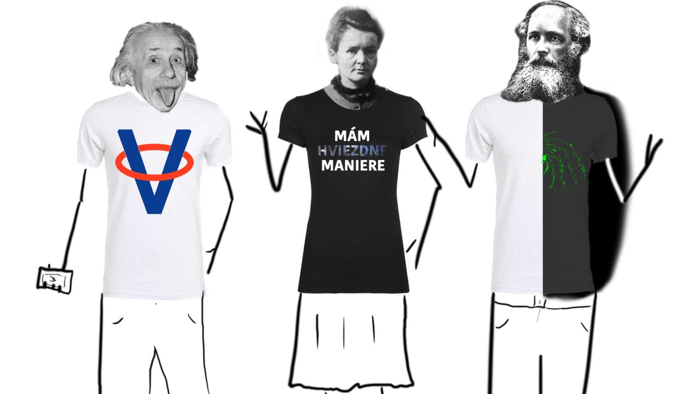 Vedátorské tričká 1