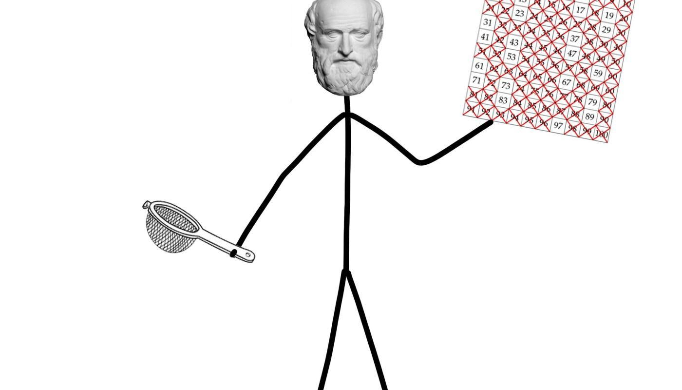 Eratosthenes a prvočísla