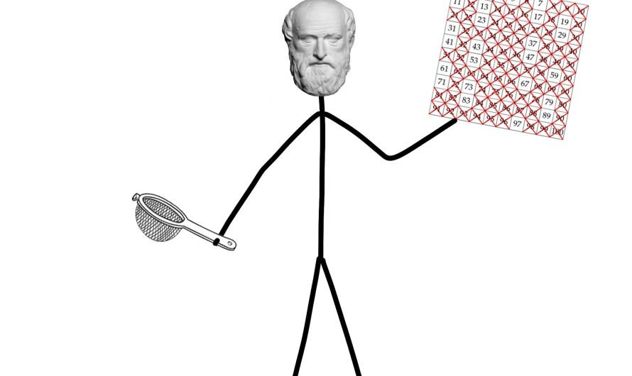 Prvočísla, pokračovanie: Eratosthenes a jeho sito, alebo urob si sám