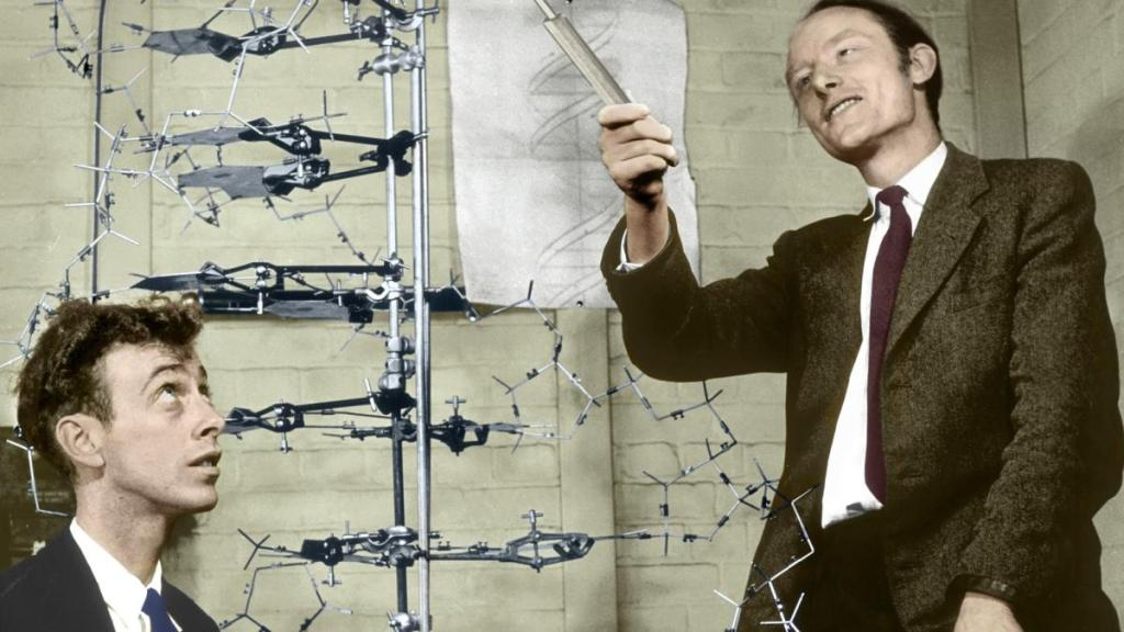 Crick a Watson, Science photo gallery