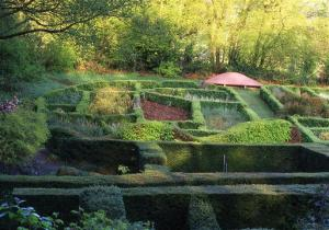 Grasses Parterre, Veddw copyright Charles Hawes