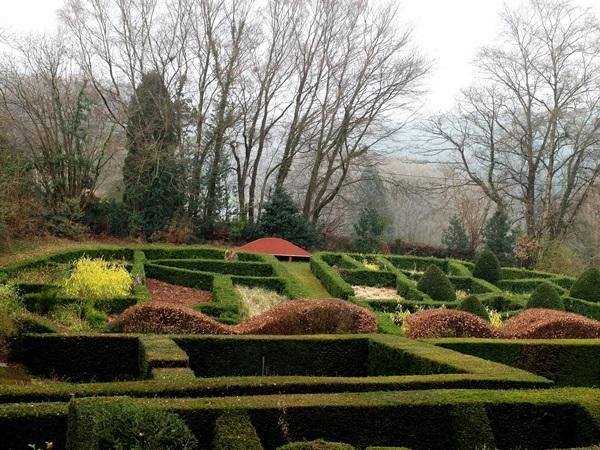 South Garden – Grasses Parterre | Veddw