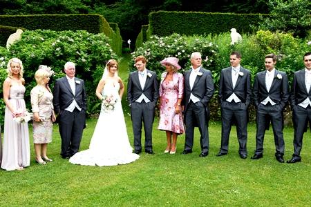 Veddw House Garden, Monmouthshire - Wedding