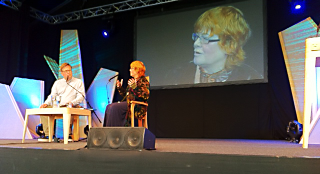 Anne Wareham interviewed by Tim Richardson at Hay Festival 2011.